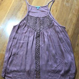 Charlotte Russe Purple tank top